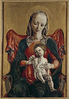 Cosme Tura Madonna and very white Child