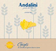 Oggi vi presentiamo i nostri #Gigli #AnticaTradizione. Sono una pasta all'uovo dalla forma originale e dal gusto inimitabile. Scoprite di più sulla pagina dedicata: http://www.andalini.it/…/prod…/antica-tradizione_40c11.html?id_prod=111