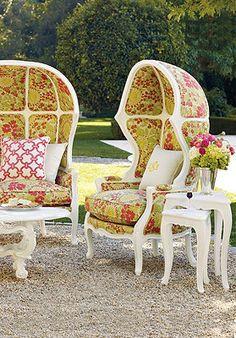 Printed Garden Furniture.