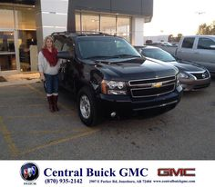 https://flic.kr/p/BsorTu | Happy Anniversary to Melissa on your #Chevrolet #Tahoe from Mike O'Bryant at Central Buick GMC! | deliverymaxx.com/DealerReviews.aspx?DealerCode=GHWO