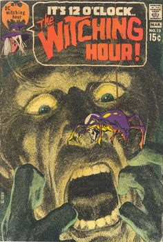 The Witching Hour #13 (March 1971) - Cover by Neal Adams