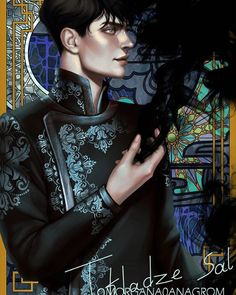 I painted this piece for cards. Hope you guys will like yet another Darkling piece. Character is from Shadow and bone trilogy… Books For Boys, I Love Books, Photomontage, Book Characters, Fantasy Characters, Fanart, Character Inspiration, Character Art, Alina Starkov