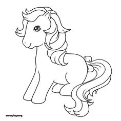 my little pony G1 coloring pages | Bubbles pony -derpy -adopt -adoptables -oc -creator -ponymaker g1