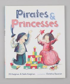 "I need to remeber this book someday! I want to do a combo ""pirates and Princesses"" birthday party. ;0)  ITake a look at this Pirates & Princesses Hardcover by Ships Ahoy: Pirate Apparel & Toys on #zulily today!"