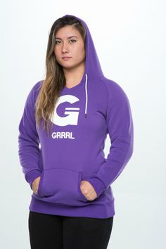 We've added a new style to our hoodie range!  The dress hoodie is similar in length to the GRRRIND sweatshirt, but with an added hoodie and v-neck cut. The dress hoodie is a tapered cut that is more of a fitted style than a traditional baggy hoodie. The dress hoodie is also several inches longer than a traditional baggy hoodie, and is ideally worn with leggings. The dress hoodie can be pulled down to sit over the bum, or pulled up for a bunched look.  Made from 100% polyester, the clas...