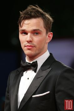 """Nicholas Hoult at the premiere of """"Equals"""" during the 72nd Venice Film Festival at the Sala Grande in Venice, Italy."""