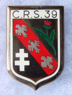 INSIGNE C. R. S. - POLICE - OBSOLETE - C.R.S. 39