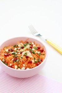 La bonne équation pour sublimer les carottes râpées à volonté ! Tofu, Risotto, Macaroni And Cheese, Ethnic Recipes, Blog, Flat Cakes, Salads, Recipe, Mac And Cheese