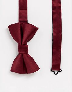Shop the latest Moss London bow tie in burgundy trends with ASOS! Moss Bros, Asos Men, Burgundy, Bows, Tie, Bowties, Cravat Tie, Bow
