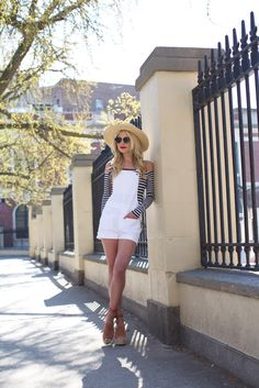 City + Stripes + White | SummerStyle // Atlantic-Pacific