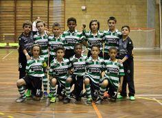 A equipa de benjamins, futsal, do SCP sagraram-se Campeões Distritais de Lisboa ao vencer o SLBenfica por 0-4.