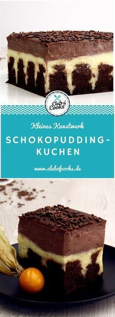 Schokopudding-Kuchen cake Related posts: This is sooOOOO good! Chocolate pudding cake How To Make Homemade Chocolate Pudding This Homemade Chocolate Pudding is a stunning make-ahead mouthwatering dessert t… Chocolate Pudding Cake, Pudding Desserts, Banana Pudding, Chocolate Club, Baking Recipes, Cake Recipes, Snack Recipes, Torte Au Chocolat, Dessert Oreo