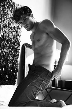 "Jamie Dornan.... actor and model... Loved him in the movie ""Marie Antionette""... need I say more?? ;)"