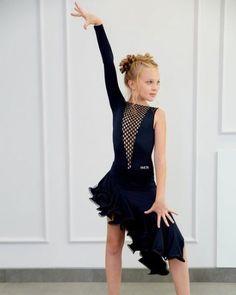 Girls Ballet Dance Dress Lyrical Ballroom Dancewear Latin Skating Stage Costume