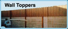 privacy fence ideas on top of block walls | of privacy to your exisitng block wall, or a free-standing fence ...