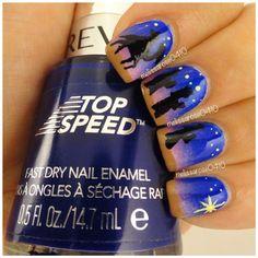 christmas by melissarose0410 #nail #nails #nailart