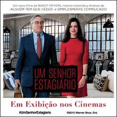 Um Senhor Estagiário #filme #cinema #movie #aposentadoria #idade #comédia