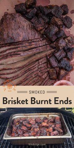 Best Beef Recipes, Beef Brisket Recipes, Grilling Recipes, Smoker Recipes, Favorite Recipes, Best Appetizers, Appetizer Recipes, Brisket Burnt Ends, Paleo Honey