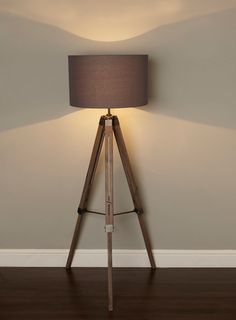 Harley Tripod Floor Lamp  Can Be Adjusted In Hight Plus Has Light Going  Both Directions · Living Room ...