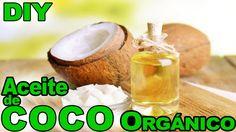 Como Hacer Aceite de Coco Orgánico Prensado en Frío para la Piel y el Ca...