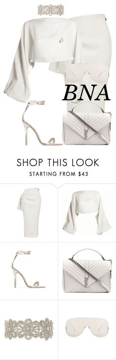 """BNA"" by deborahsauveur ❤ liked on Polyvore featuring Maticevski, DAMIR DOMA, Baldwin, Yves Saint Laurent, Child Of Wild and Acne Studios"