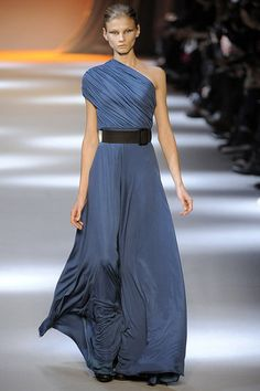 Giambattista Valli... i kind of like how the one shoulder thing is done here