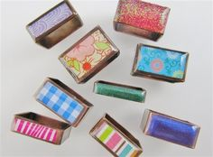 Colorful Copper: Make Square Rings Using Enamel or Resin and Hardware-Store Copper Pipe ... Jewelry Making Daily