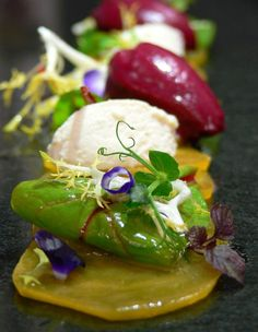 Lovely picture with Affilla Cress and Shiso Purple - by Gregor Marx