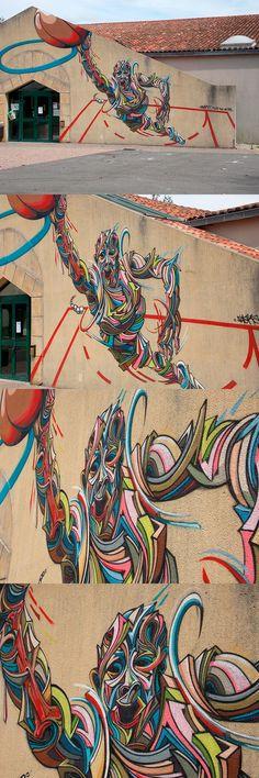 Shaka | Rue des Arts Festival 2014 - Carla-Bayle, Ariege, France | Photograph: Maryan Novel August 30th, 2014