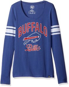 9c8a9478c70 Amazon.com   NFL Women s 47 Homerun Long Sleeve Scoop Tee   Sports    Outdoors