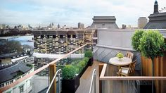 Terrace at The Writer's Penthouse, Corinthia Hotel