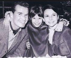 James Garner, Gigi Garner and Lois Clarke Garner