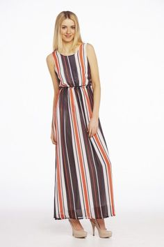 We love this .....Nautical maxi dress £28 just need the sun now!