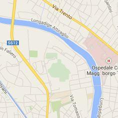 Progetto informatico realizzato su google maps  per un' uscita con gli amici in centro città a Verona
