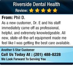 As a new customer, Dr. E and his staff immediately came off as professional, helpful, and...