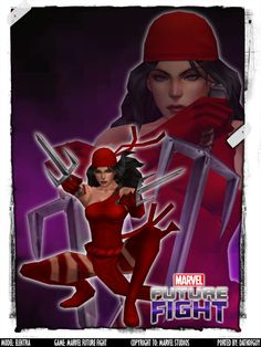 MARVEL Future Fight - Elektra by DatKofGuy