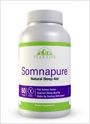 Let Somnapure remind you how it feels to have a great night's sleep. All Natural! Price: $69.99