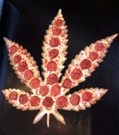 Weed Pizza- going to make this with some special crust