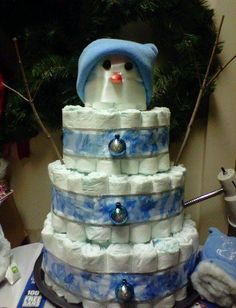 This will be at Mike's next diaper party...