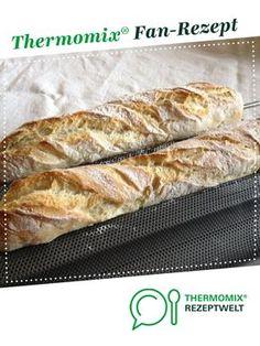 Baguette nach französischem Rezept von KJ93. Ein Thermomix ® Rezept aus der Kategorie Brot & Brötchen auf www.rezeptwelt.de, der Thermomix ® Community.