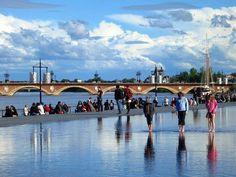 Miroir d'eau, Bordeaux France