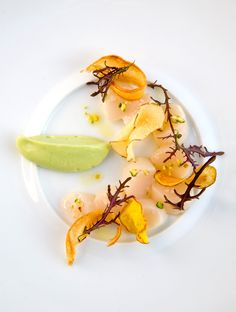 Michelin star restaurant Manresa in Los Gatos. Amazing food with beautiful presentation is definitely a bonus when it comes to impressing your date.