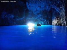 Blue Caves in Kastelorizo Greece