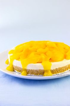 Mangoes & Cheesecakes are my 2 favourites! Put them together and... I wonder how they would taste like together?
