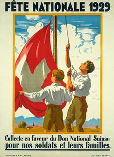 Affiche ancienne – Fête Nationale 1929 – Galerie 1 2 3 Comic Books, Baseball Cards, Comics, Art, National Day Holiday, Art Background, Comic Strips, Kunst, Comic Book
