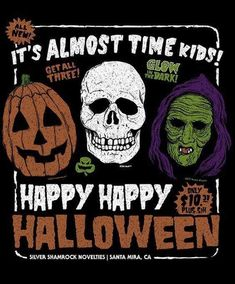 'Halloween III: Season of the Witch' by Casey Booth Retro Halloween, Halloween Images, Halloween Movies, Halloween Horror, Scary Movies, Halloween Design, Fall Halloween, Horror Movies, Halloween Icons