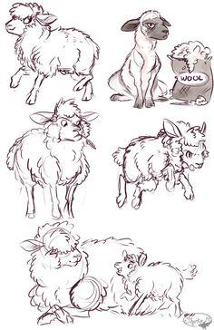 Sheep by sharkie19 on DeviantArt