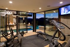 indoor gym for your home