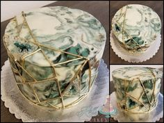 """Custom """"cottage foods"""" cake studio offering one on one planning, delicious flavors, and amazing designs. Gold Accents, Fondant, Cake Recipes, Decorative Boxes, Cakes, Easy Cake Recipes, Cake Makers, Kuchen, Cake"""