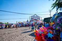 Even the Cemeteries of Puerto Vallarta are full of colors and joy during the Day of the Dead celebration!